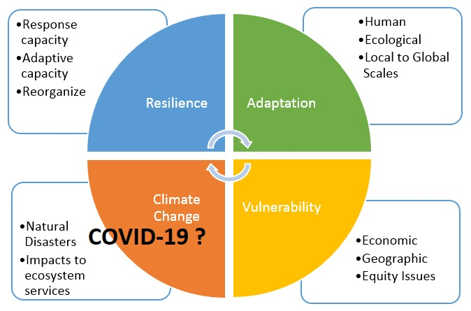 An example of climate change resilience planning chart
